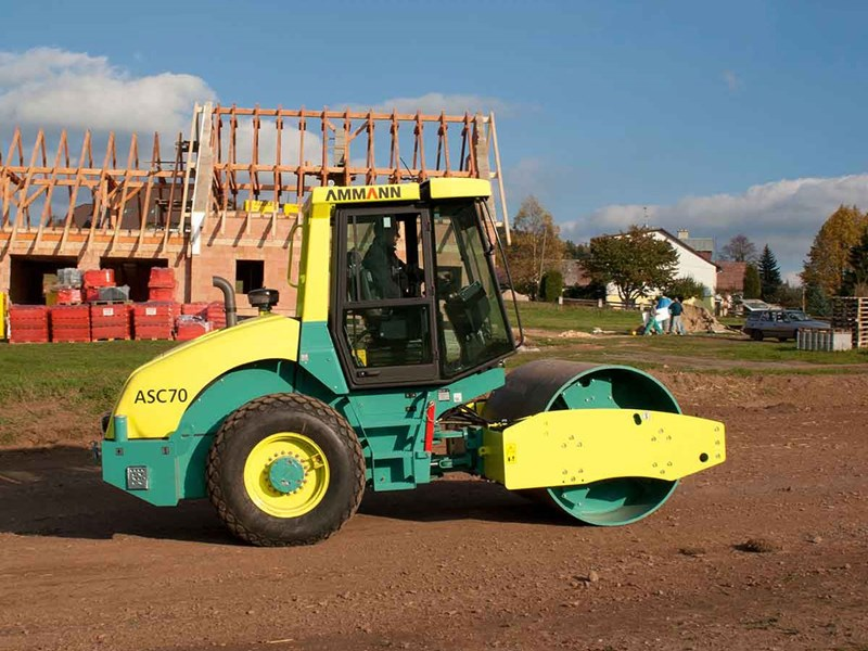 Ammann ASC 70 PD single drum padfoot compactor