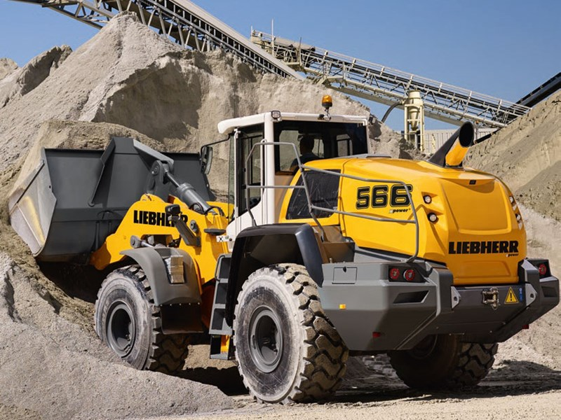 Liebherr L 566 XPower Wheel Loader