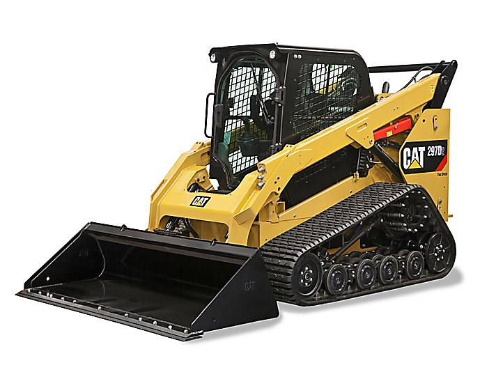 Caterpillar 297D2 compact track loader