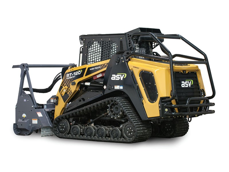 New ASV Posi-Track RT-120 Forestry Loaders for sale