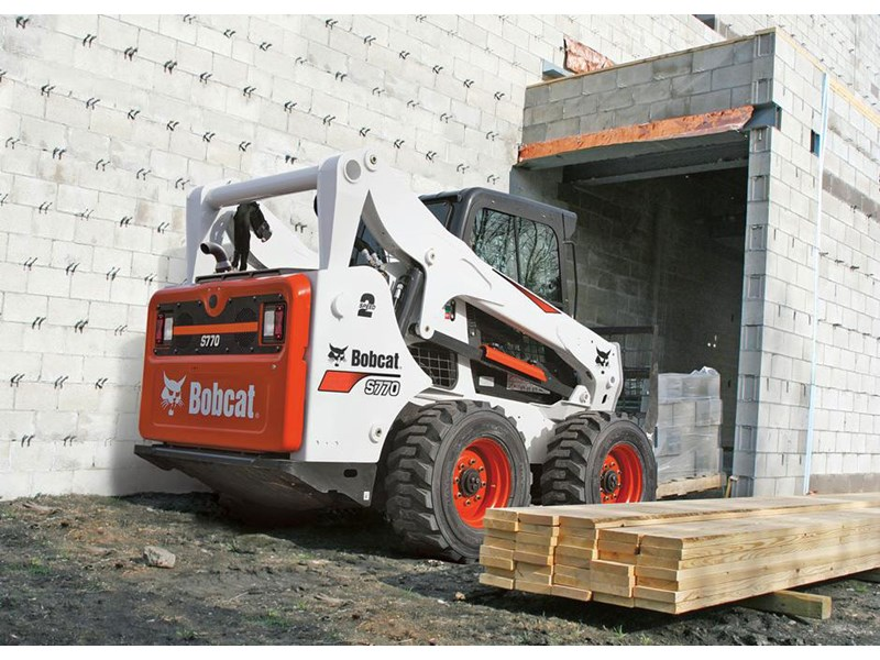Bobcat S770 skid steer loader
