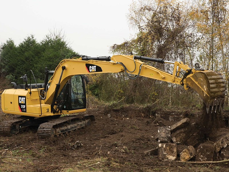 Caterpillar 313F-L GC excavator