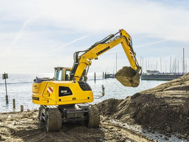New LIEBHERR A 918 Compact Litronic Excavators for sale