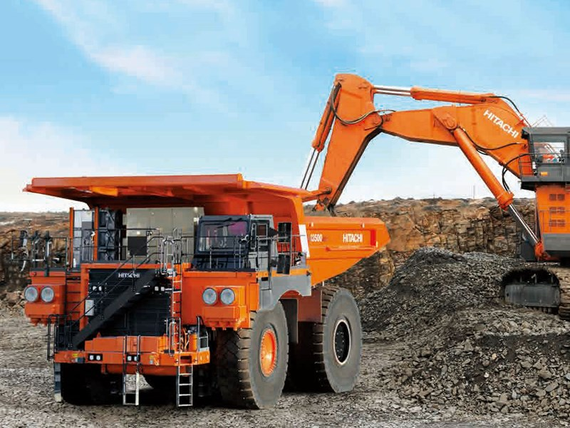 Hitachi EH3500AC-3 rigid dump truck