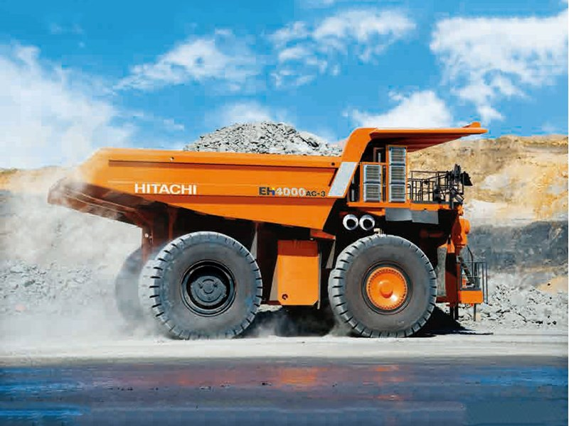Hitachi EH4000AC-3 rigid dump truck