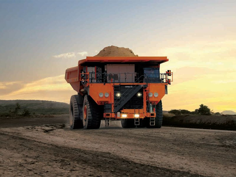 Hitachi EH5000AC-3 rigid dump truck