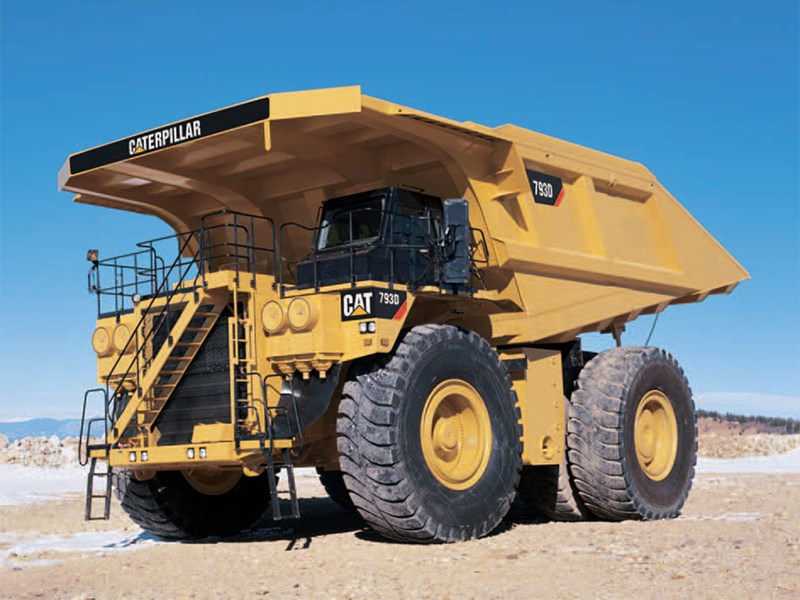 Caterpillar 793D rigid dump trucks