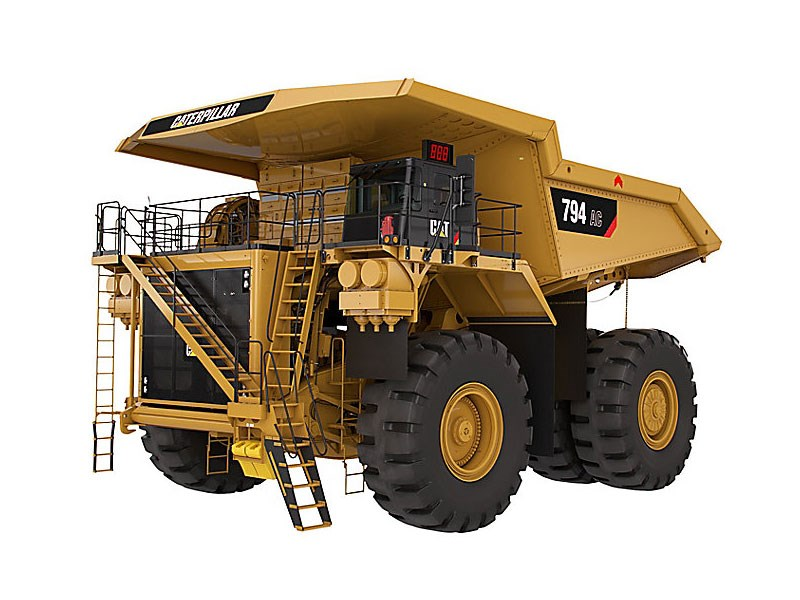 Caterpillar 794 AC rigid dump truck
