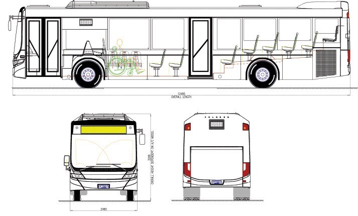 New Volgren Optimus Route Bus Buses For Sale