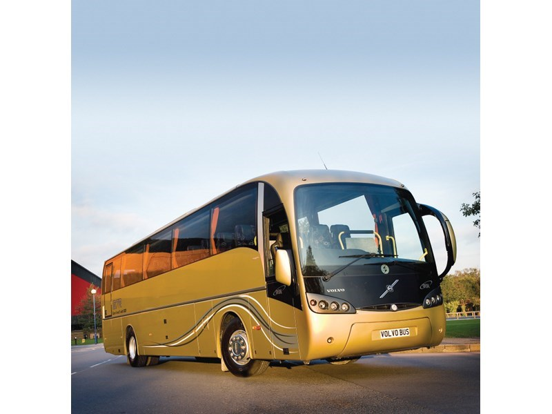 Volvo B7R bus chassis