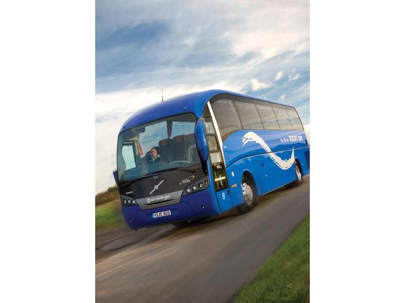 Volvo B9R bus chassis