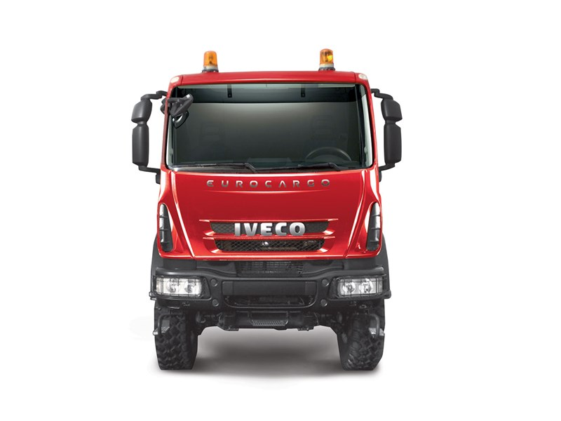 Iveco EuroCargo 4x4 chassis