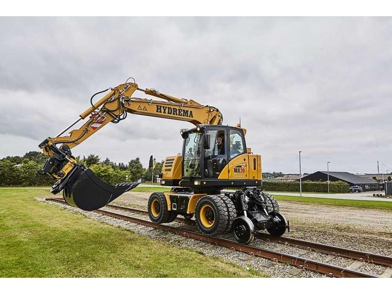 New HYDREMA MX20-Rail 2 Piece Boom Excavators for sale