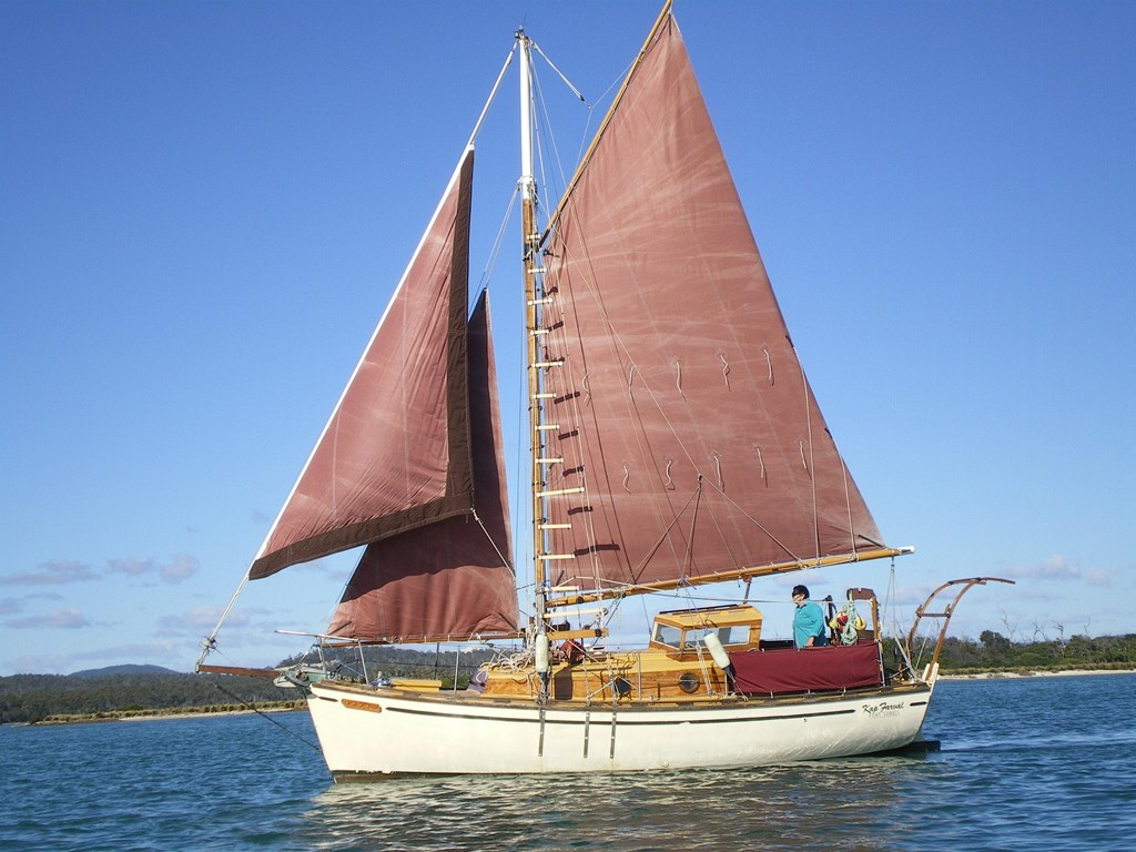 1996 Gaff Rigged Cutter For Sale