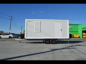 2019 CABIN AGCAB20 SITE OFFICE FULLY RELOCATABLE for sale