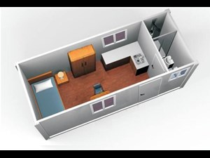 custom built one bed site office cabins 511969 015