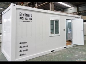 custom built one bed site office cabins 511969 011