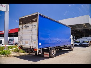 2017 HINO 500 SERIES - GH 1728 12 Pallet curtainsider for sale