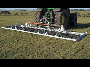2019 RITCHIE 824G 4 0 Hyd folding chain harrows for sale