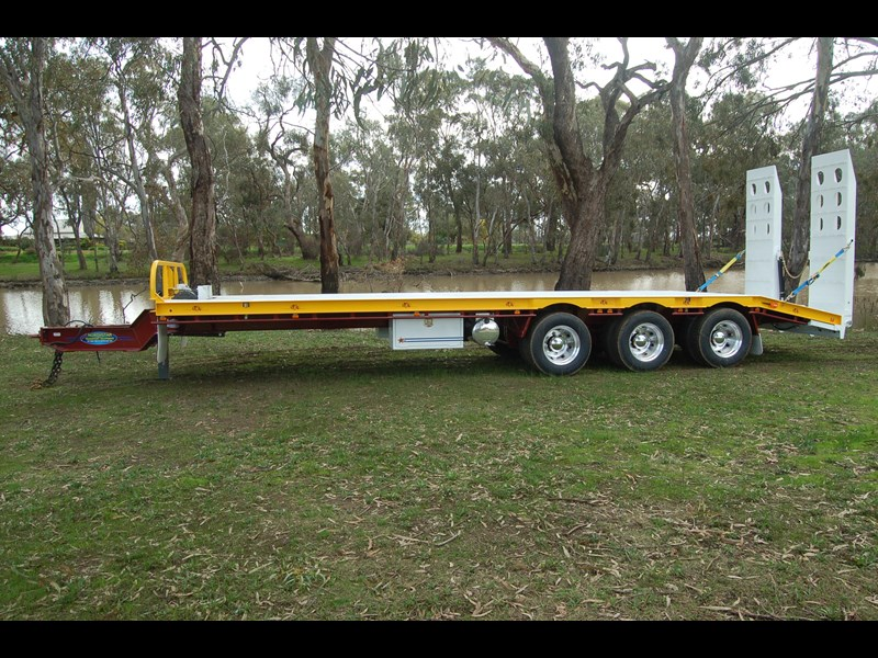northstar transport equipment tri axle tag trailer 231065 001