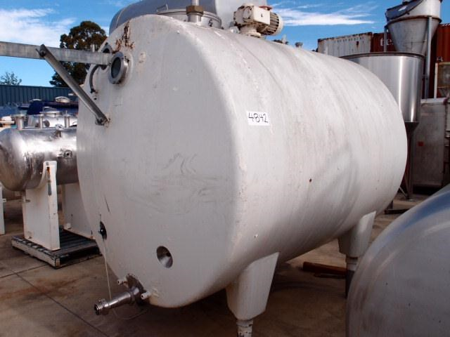 stainless steel mixing tank 4,650lt 218686 001