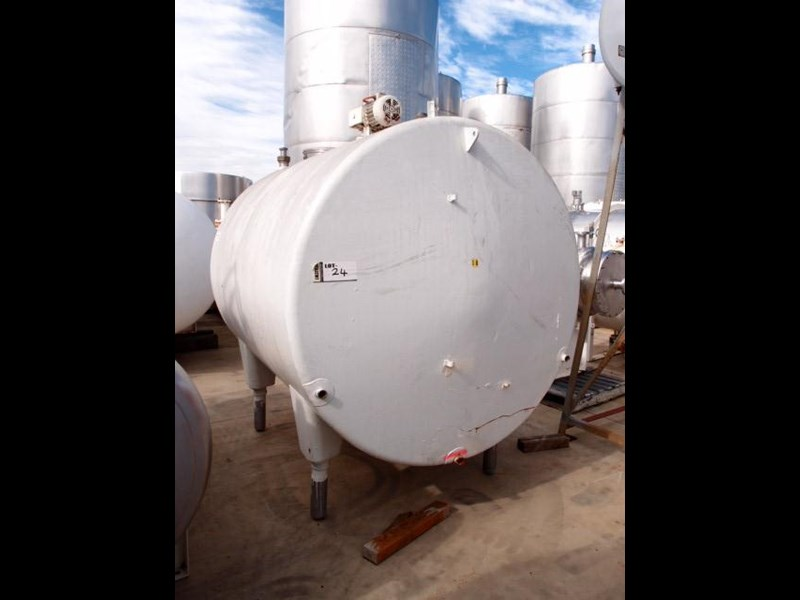 stainless steel mixing tank 4,650lt 218686 003