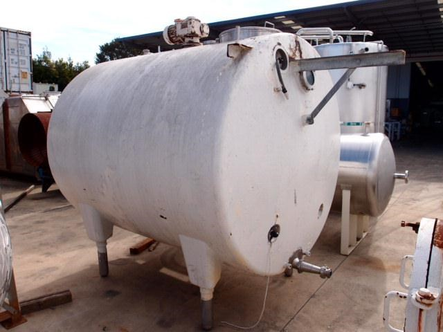 stainless steel mixing tank 4,650lt 218686 005