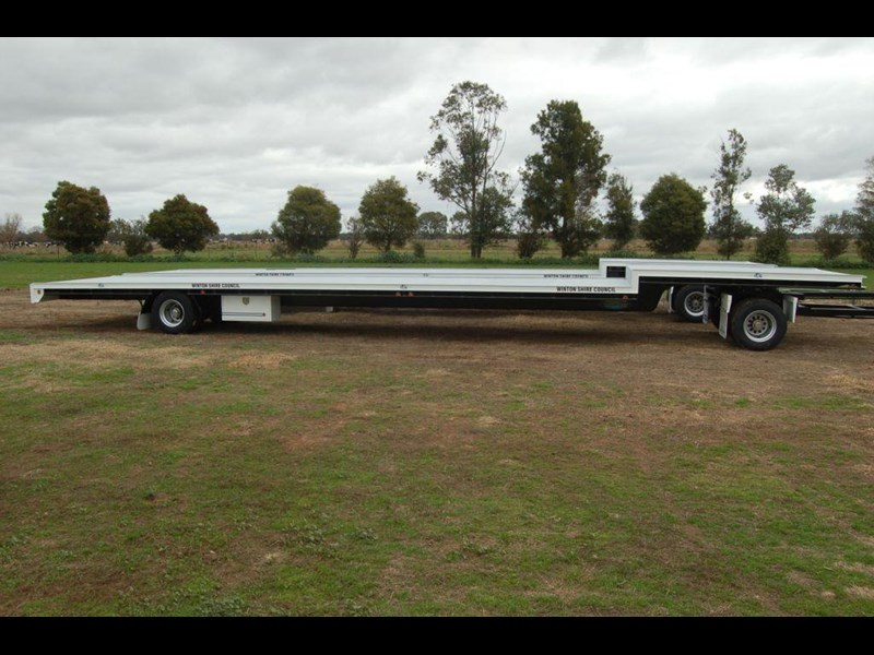 northstar transport equipment 2019 2 axle dog trailer 63092 005