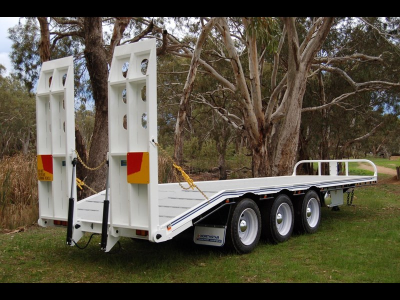 northstar transport equipment tri axle tag trailer 231065 009