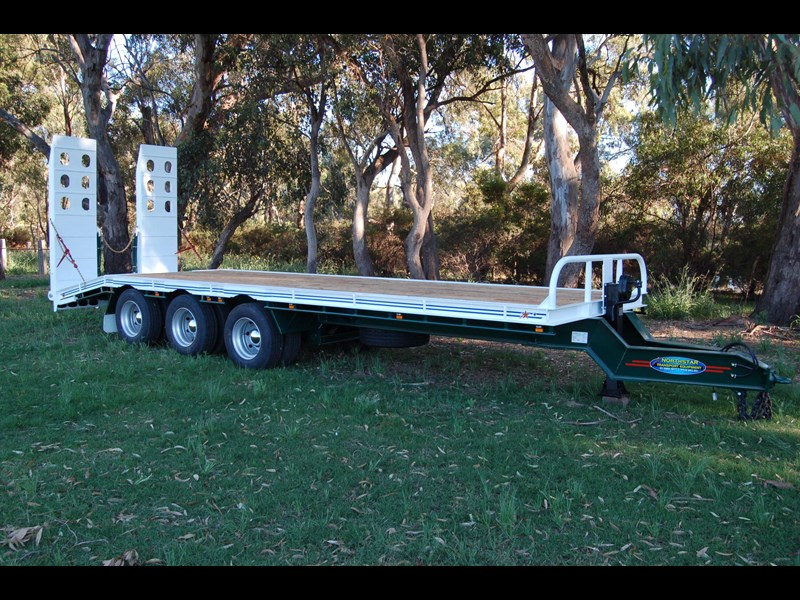 northstar transport equipment tri axle tag trailer 231065 029
