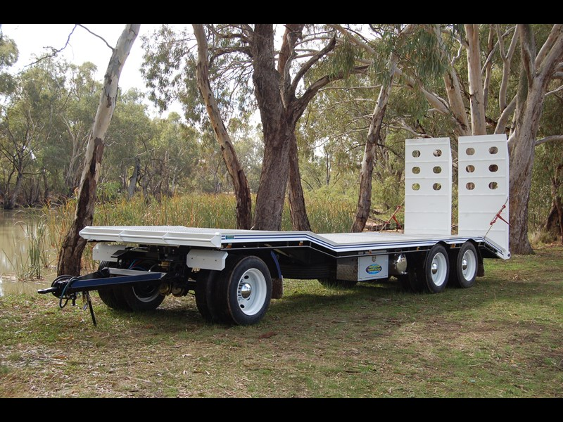 northstar transport equipment tri axle plant dog trailer 63090 005