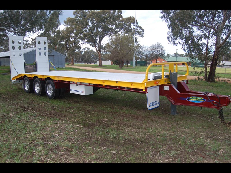 northstar transport equipment tri axle tag trailer 231065 035