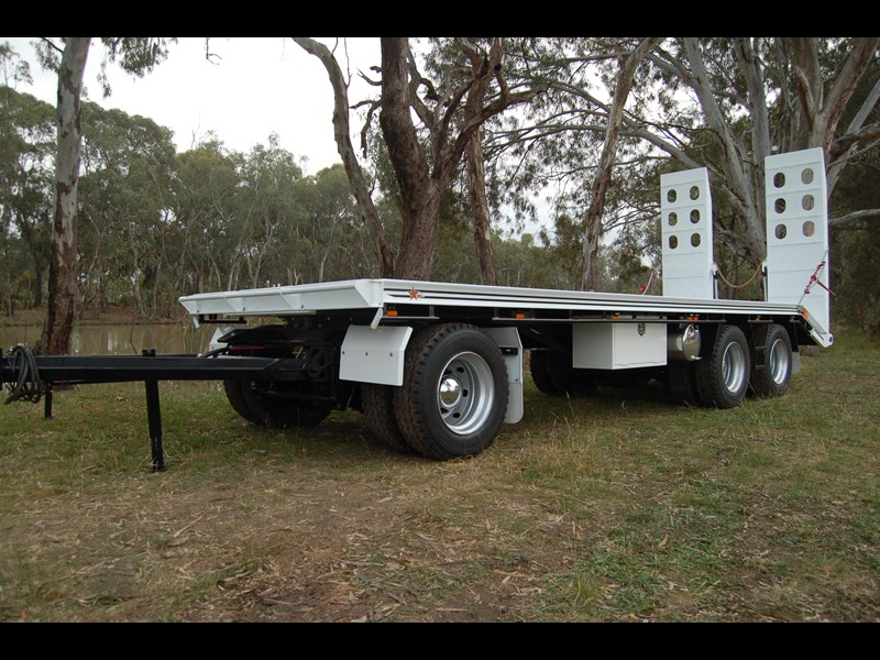 northstar transport equipment tri axle plant dog trailer 63090 025