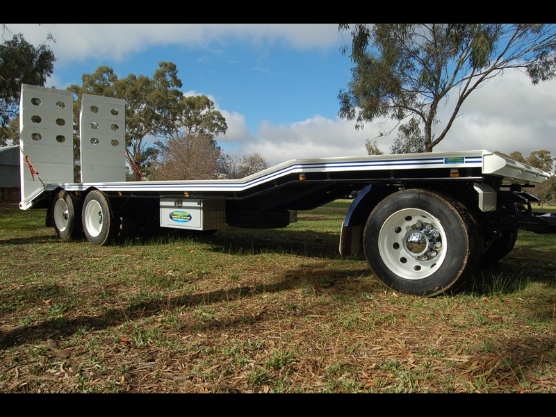 northstar transport equipment tri axle plant dog trailer 63090 013