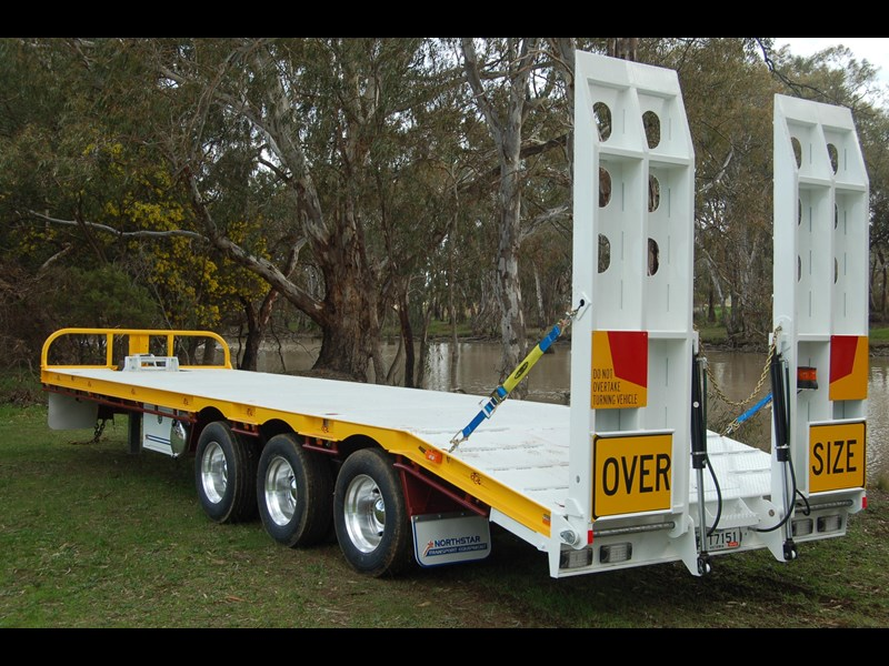 northstar transport equipment tri axle tag trailer 231065 033