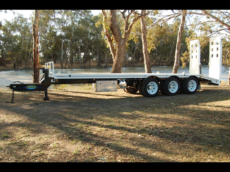 northstar transport equipment tri axle tag trailer 231065 025
