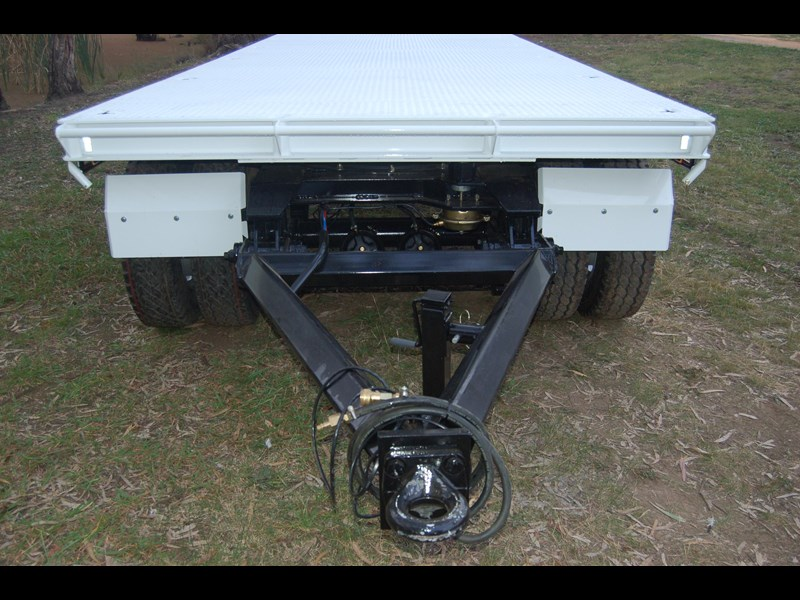 northstar transport equipment tri axle plant dog trailer 63090 017
