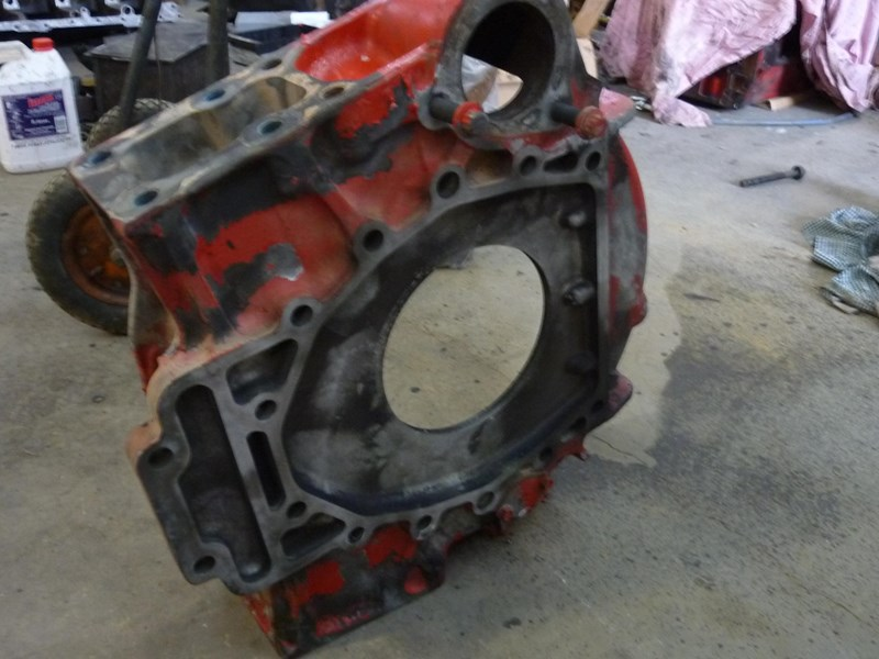 cummins isx flywheel housing 231429 001