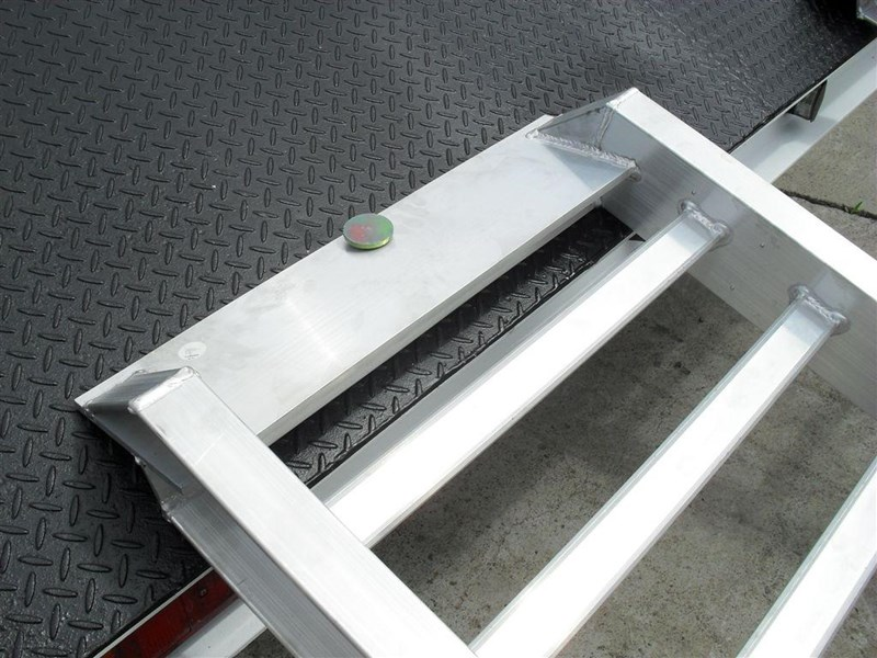 rhino 4.8 ton aluminum loading ramps [500 mm wide] [attramp] 7/4833pt 235619 007