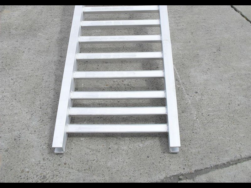 rhino ramps - 4.8 ton aluminum loading ramps [400 mm wide] 7/4833t [attramp] 235647 010