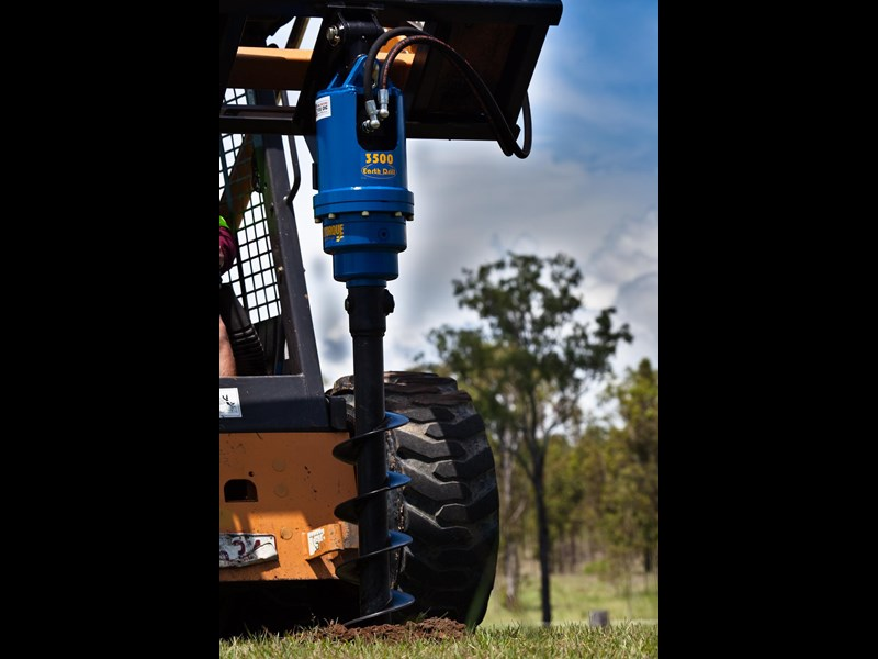 auger torque auger drive unit. suit 2.5t to 4.5t skid steer loaders [3500max-ssl][attaug] 235722 006