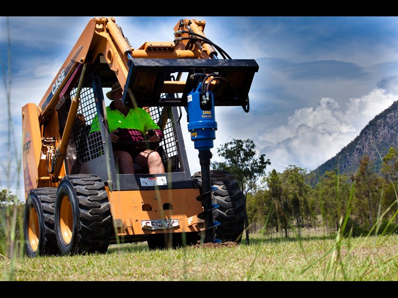 auger torque auger drive unit. suit 2.5t to 4.5t skid steer loaders [3500max-ssl][attaug] 235722 007
