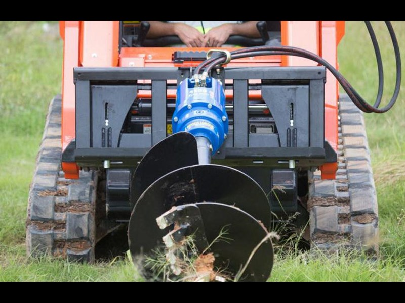 auger torque auger drive unit. [4500max-ssl] suit 3t to 4.5t skid steer loaders. [attaug] 235738 006