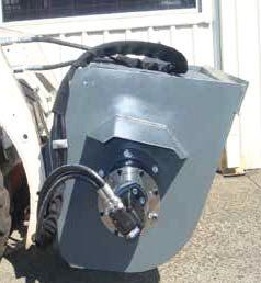 other hydraulic concrete kibble / concrete bucket / mud hopper [0.5 cube m] [attbuck] 235934 007