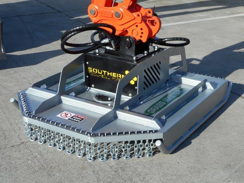 rhino slasher. brush cutter attachment 4ft / 1280mm excavator mount excavator pick up [attslash] 236259 011