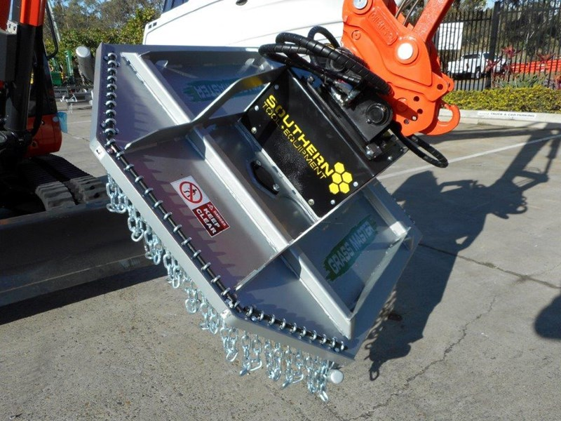 rhino slasher. brush cutter attachment 4ft / 1280mm excavator mount excavator pick up [attslash] 236259 019