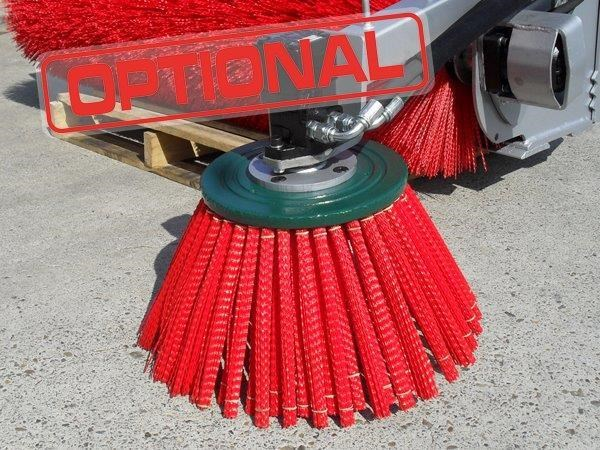 rhino heavy duty - 1800 mm enclosed bucket broom for skid steer loaders [attbroom] 236557 019