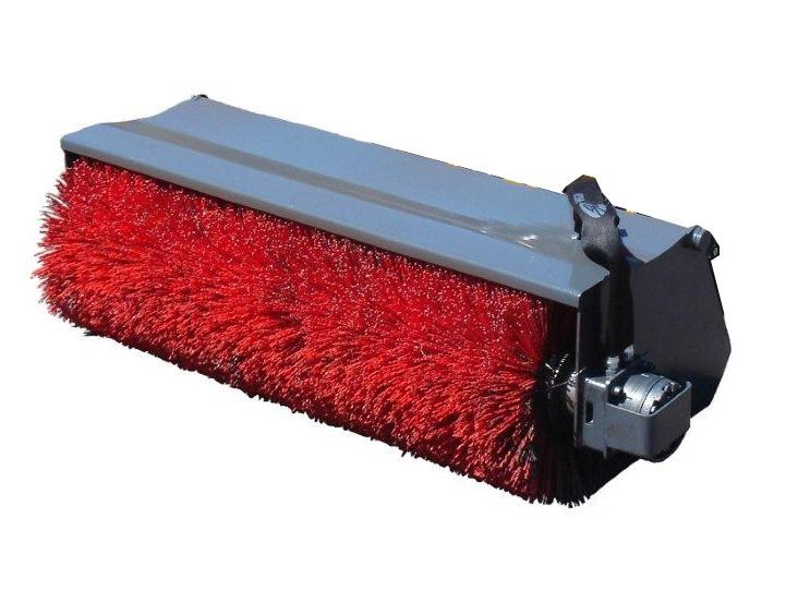 rhino bucket broom. open mouth. suit 4skd4 toyota loaders [1300mm] [attbroom] 236356 001