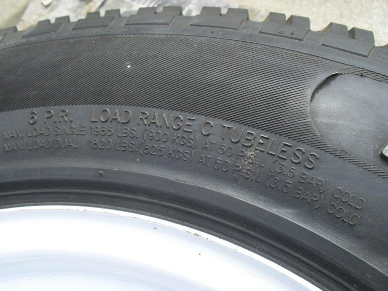 other 235/75r15 6ply trailers / 4x4 tyre rim wheel assemble / [pp114] [new] [attppitem] [atttyre] 236938 023
