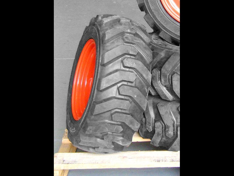rhino 8.5-12 spare tyre assemble fit bobcat model 463 skid steer loaders [atttyre] [work ready]   [ 6 ply tubeless ] 236946 015
